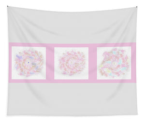 Flower Bouquet Triptych - Tapestry