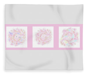 Flower Bouquet Triptych - Blanket