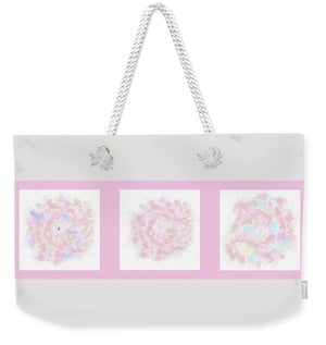 Flower Bouquet Triptych - Weekender Tote Bag