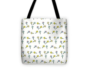 Flower Fun Pattern - Tote Bag