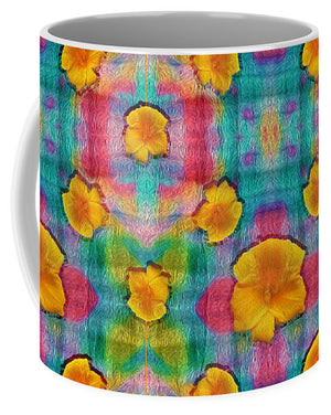 Flower Power Pattern - Mug