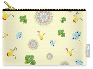 Fruity Cocktails Pattern - Carry-All Pouch