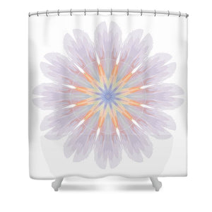 Happy Together Flower 1 of 4 - Shower Curtain