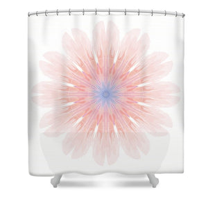 Happy Together Flower 4 of 4 - Shower Curtain
