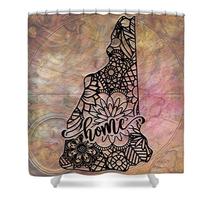 Home State - New Hampshire - Shower Curtain