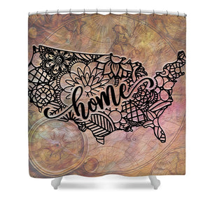 Home State - United States - Shower Curtain