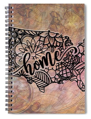 Home State - United States - Spiral Notebook