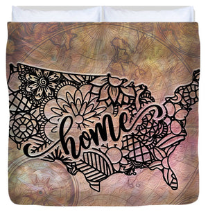Home State - United States - Duvet Cover