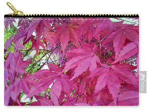 Japanese Maple Leaves - Carry-All Pouch