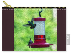Just Passing Through - Hummingbirds - Carry-All Pouch