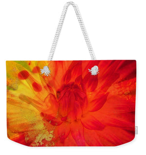 Ketchup and Mustard Floral 2 of 2 - Weekender Tote Bag