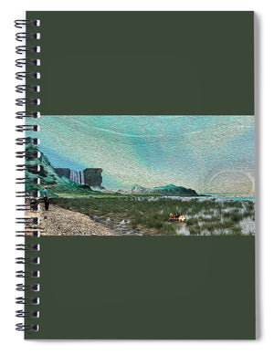 Like Walking in a Painting - Spiral Notebook