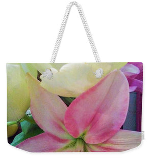 Lily and Tulips - Weekender Tote Bag