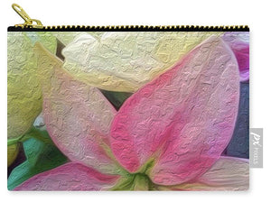 Lily and Tulips - Stylized - Carry-All Pouch