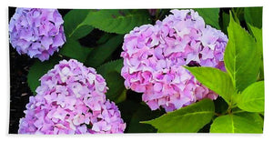 Martha's Vineyard Hydrangeas 2 - Beach Towel