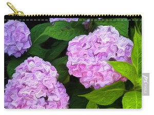 Martha's Vineyard Hydrangeas 2 - Stylized - Carry-All Pouch