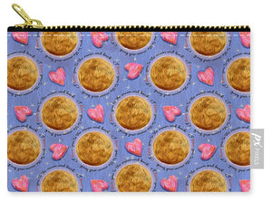 Moon Stars and Hearts - Carry-All Pouch