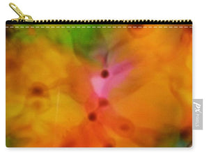 Orange Flowers Abstract - Carry-All Pouch