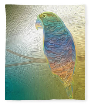 Perched Parrot - Blanket