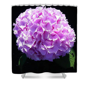 Pink Hydrangea - Shower Curtain