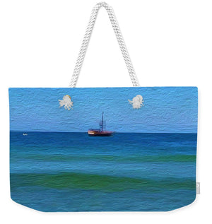 Pirate Ship, Oak Bluffs, MA - Weekender Tote Bag