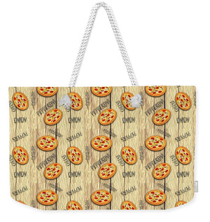 Pizza Party Pattern - Weekender Tote Bag
