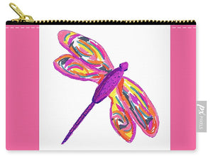 Purple Dragonfly - Carry-All Pouch
