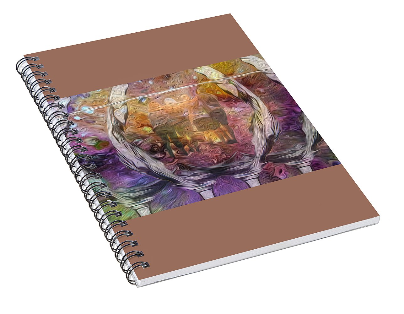 Raise Your Glass - Spiral Notebook