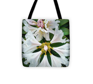 Rhododendron Flowers - Tote Bag