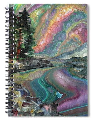 Rocky River Shoreline - Spiral Notebook