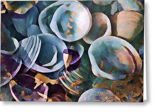 Shells, Sea and Sand 2 - Greeting Card