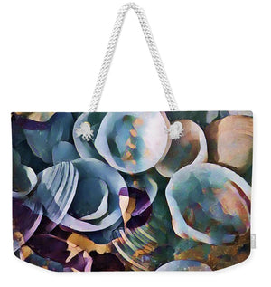 Shells, Sea and Sand 2 - Weekender Tote Bag