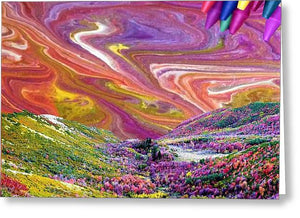 Sky Colors Earth - Greeting Card