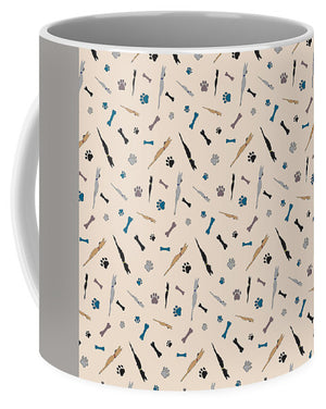 Sleeping Dogs Pattern - Mug