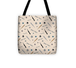 Sleepy Puppy Pattern - Tote Bag
