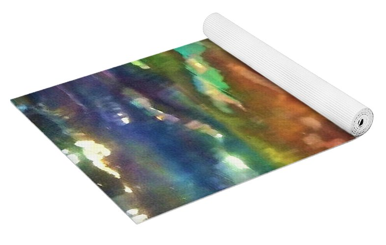 Sun Spots Abstract - Yoga Mat