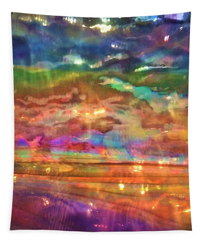 Sun Spots Abstract - Tapestry