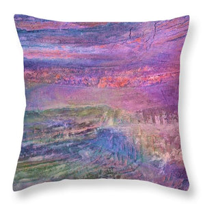Sunset on the Jetty - Throw Pillow