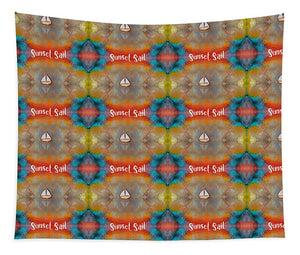 Sunset Sail Pattern - Tapestry