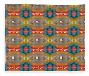 Sunset Sail Pattern - Blanket