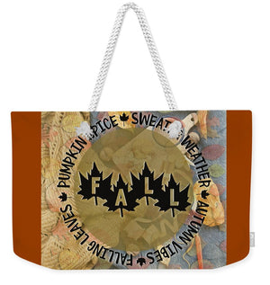 Sweater Weather - Weekender Tote Bag