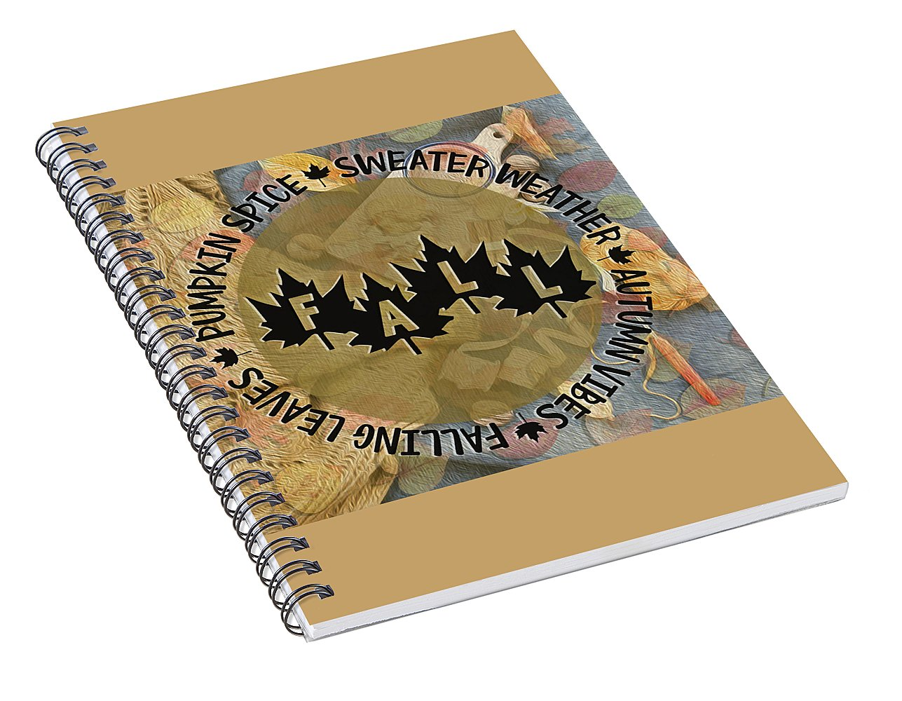 Sweater Weather - Spiral Notebook