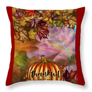 Thankful - Throw Pillow