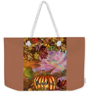 Thankful - Weekender Tote Bag