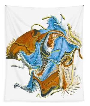 The Cowboy Abstract - Tapestry