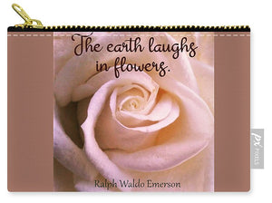 The Earth Laughs In Flowers - Carry-All Pouch