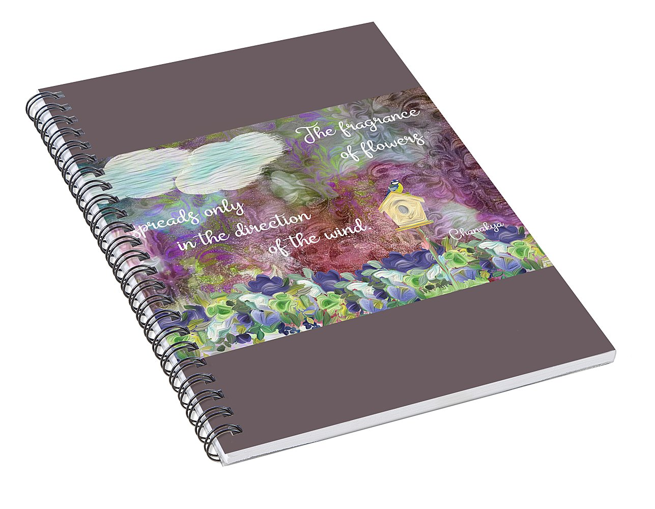 The Fragrance of Flowers - Spiral Notebook