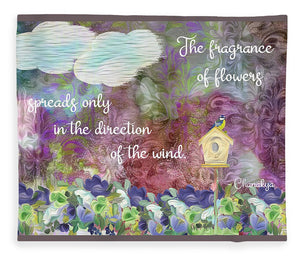 The Fragrance of Flowers - Blanket