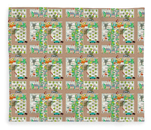The Secret Life of Ants Pattern - Blanket