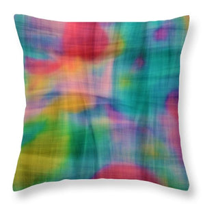 Threads That Bind Abstract - Throw Pillow